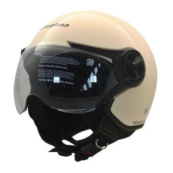 CARGLOSS YR HC Gothic Helm Half Face Avorio Naide L 1