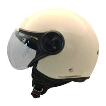 CARGLOSS YR HC Gothic Helm Half Face Avorio Naide L 2