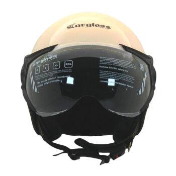 CARGLOSS YR HC Gothic Helm Half Face Avorio Naide L 4