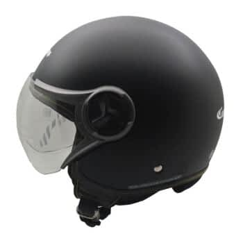 CARGLOSS YR HC Gothic Helm Half Face Deep Black SG L 1